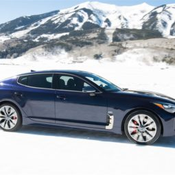 "LIMITED PRODUCTION KIA 2019 STINGER GT ""ATLANTICA"" BRINGS UNIQUE FEATURES TO KIA'S FASTBACK SPORT SEDAN!"