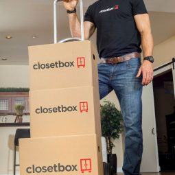 Closetbox – Store Your Stuff with a Click of a Button