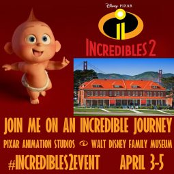 I am heading to Pixar for the #Incredibles2Event