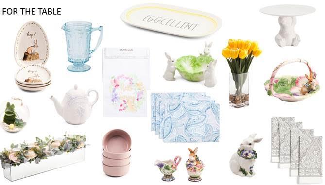 T.J. Maxx Easter Shopping