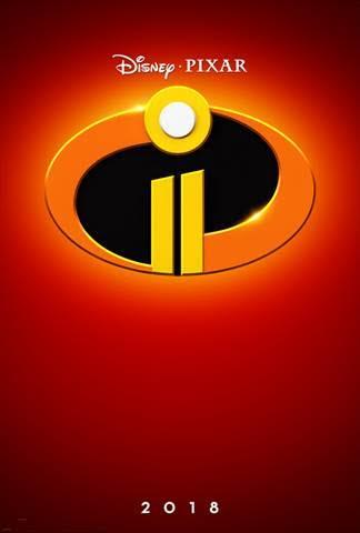 Pixar Incredibles 2