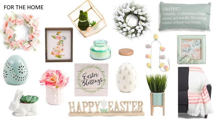 T.J.Maxx Easter Shopping