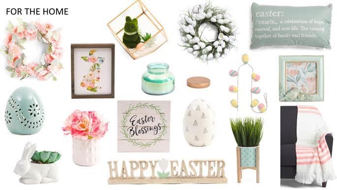 T.J.Maxx Easter Shopping
