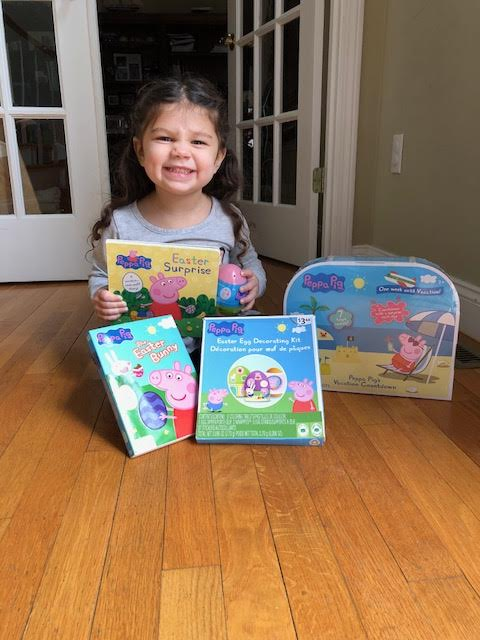 We love Peppa Pig Easter products!