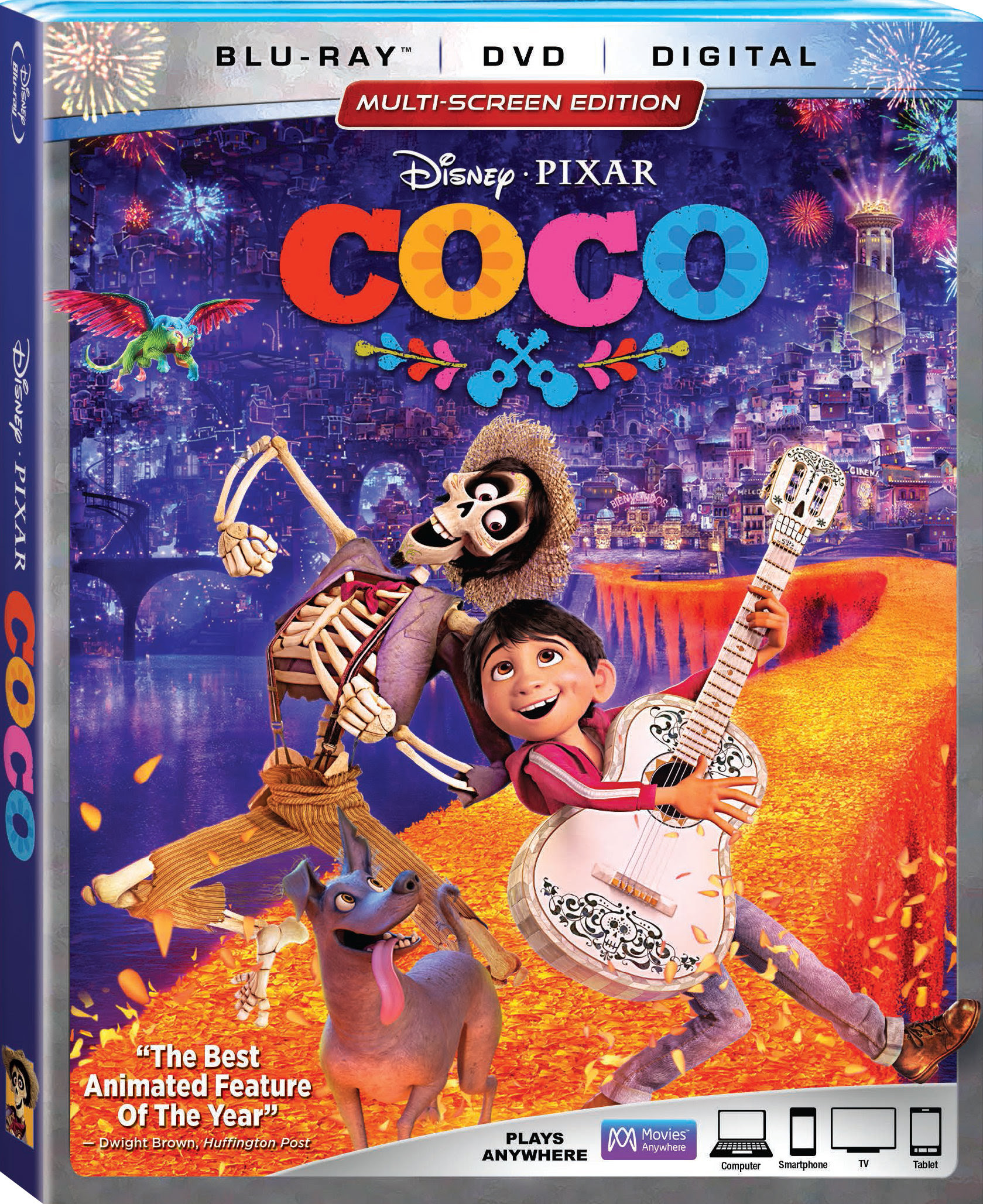 COCO- ACADEMY AWARD WINNER FOR BEST ANIMATION