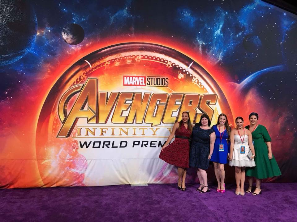 Avengers: Infinity War Red Carpet Premiere