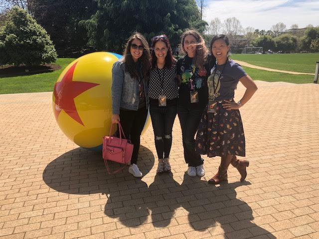 INCREDIBLES 2 is coming out end of June. I visited Pixar Studios in anticipation of this movie.