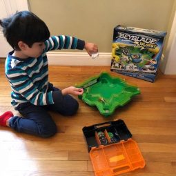 Fun Family Challenges with Hasbro's Beyblades