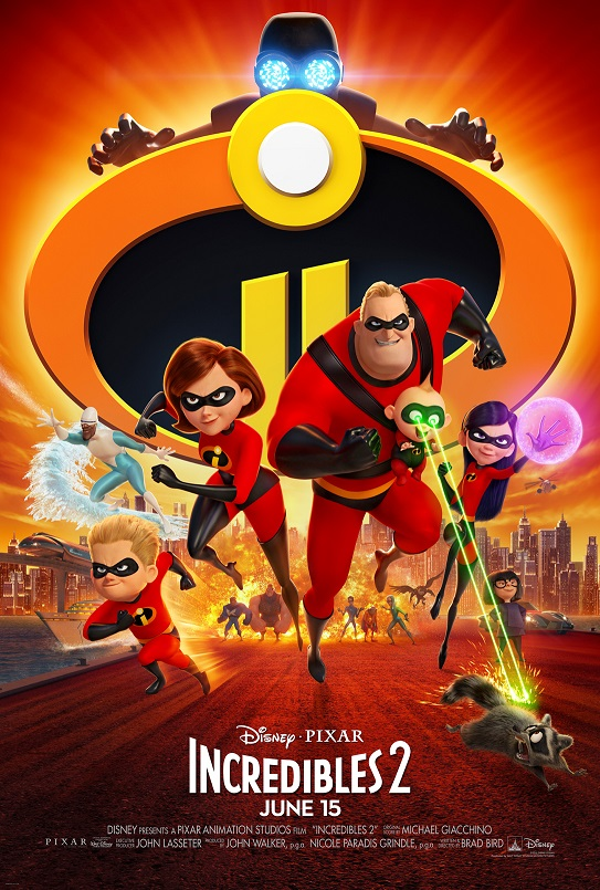 The Incredibles 2 is out June 15!