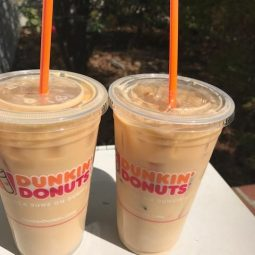 Dunkin' Donuts Iced Coffee Day in collaboration with Good Night Lights!