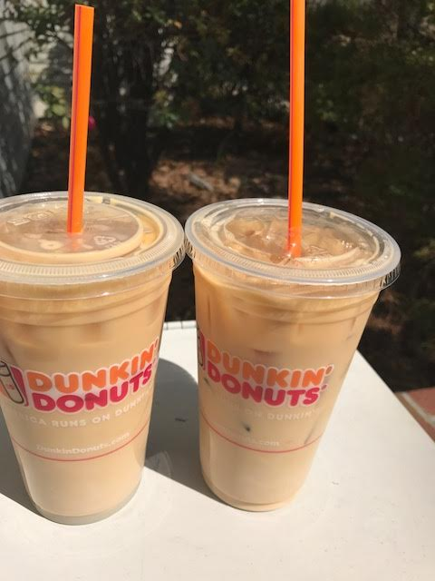 Dunkin' Donuts Iced Coffee Day