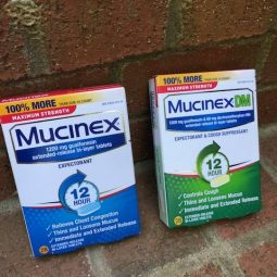 Cough, Congestion- No Problem! Mucinex to the Rescue!