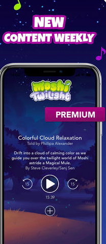 Moshi Twilight Kid's App