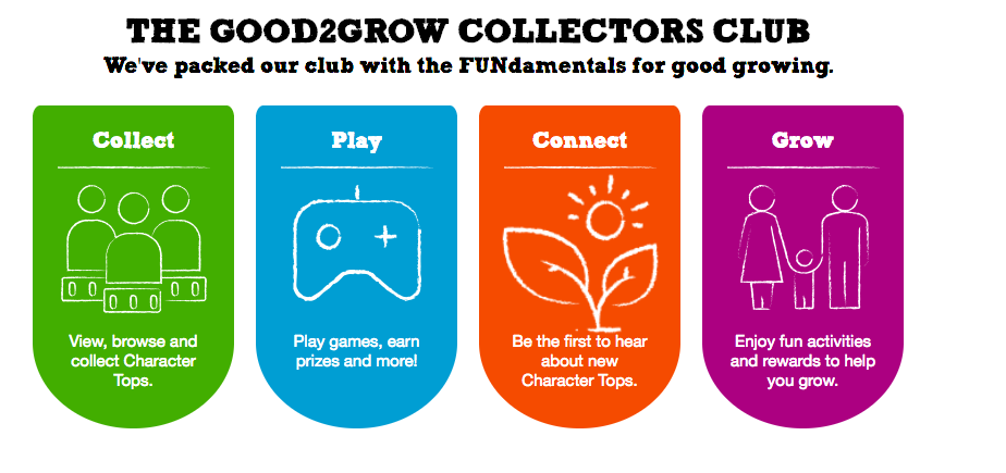 Good2Grow is a fun drink for the kids.