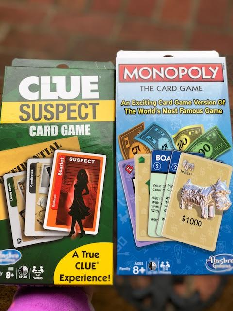 Clue Suspect Game