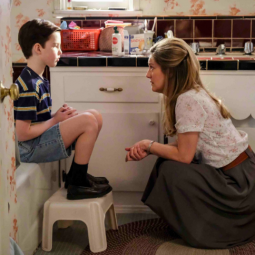 Young Sheldon: The Complete First Season on DVD today!