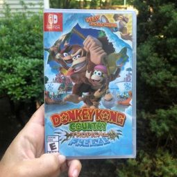 After School Activities Ideas with the Nintendo Switch Donkey Kong Country Tropical Freeze and Go Vacation!