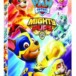 PAW Patrol: Mighty Pups now on DVD!
