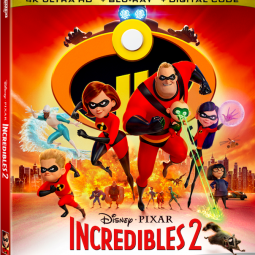 Incredibles 2 on DVD today