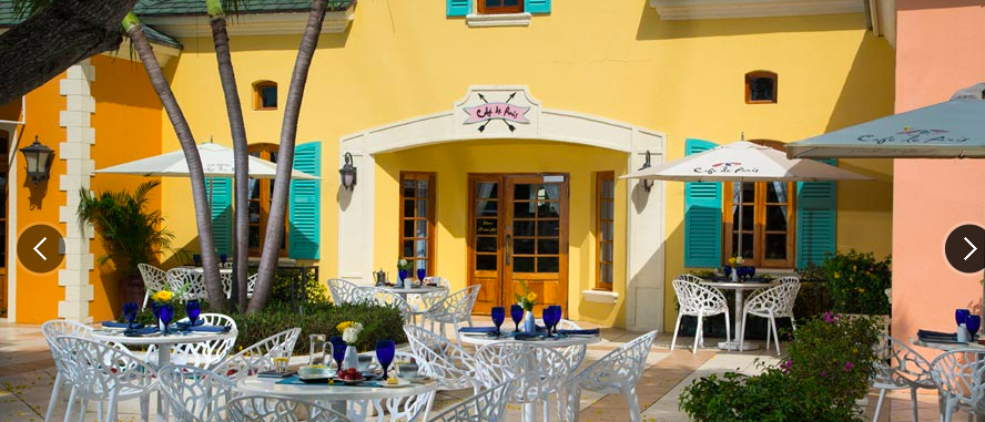 Beaches Turks and Caicos dining options