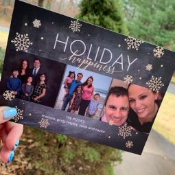Send Christmas Cards from Chatbooks and $20 for 20 cards Special!