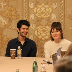 "MARY POPPINS RETURNS Ben Whishaw (""Michael Banks"") & Emily Mortimer (""Jane Banks"") interview"