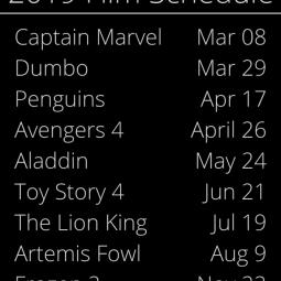 Disney Movies 2019