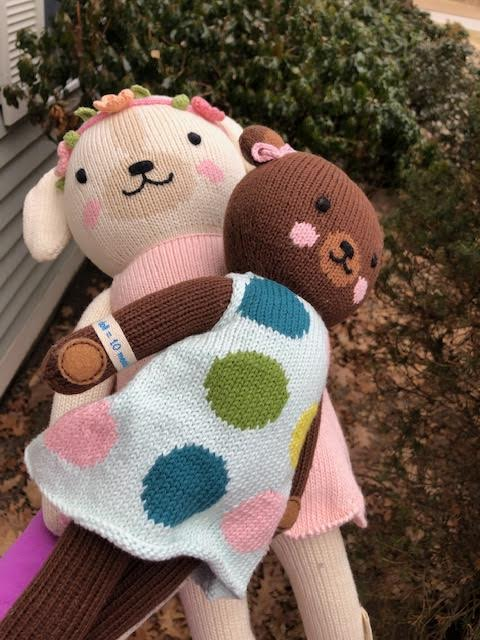 cuddle+kind Hand Knit Dolls