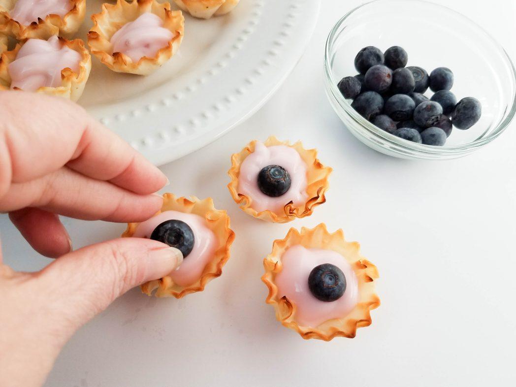 Fresh Blueberry Recipes with these Signature Blueberry Yogurt Tarts!