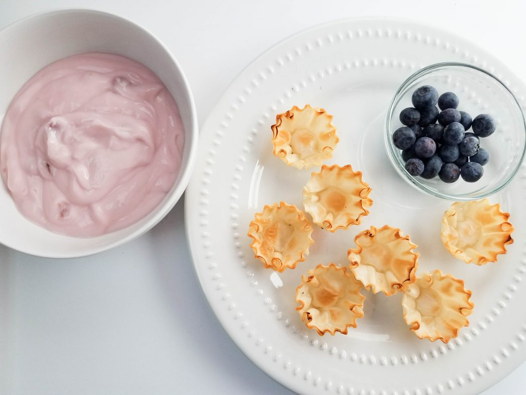Fresh Blueberry Recipes with these Signature Blueberry Yogurt Tarts!