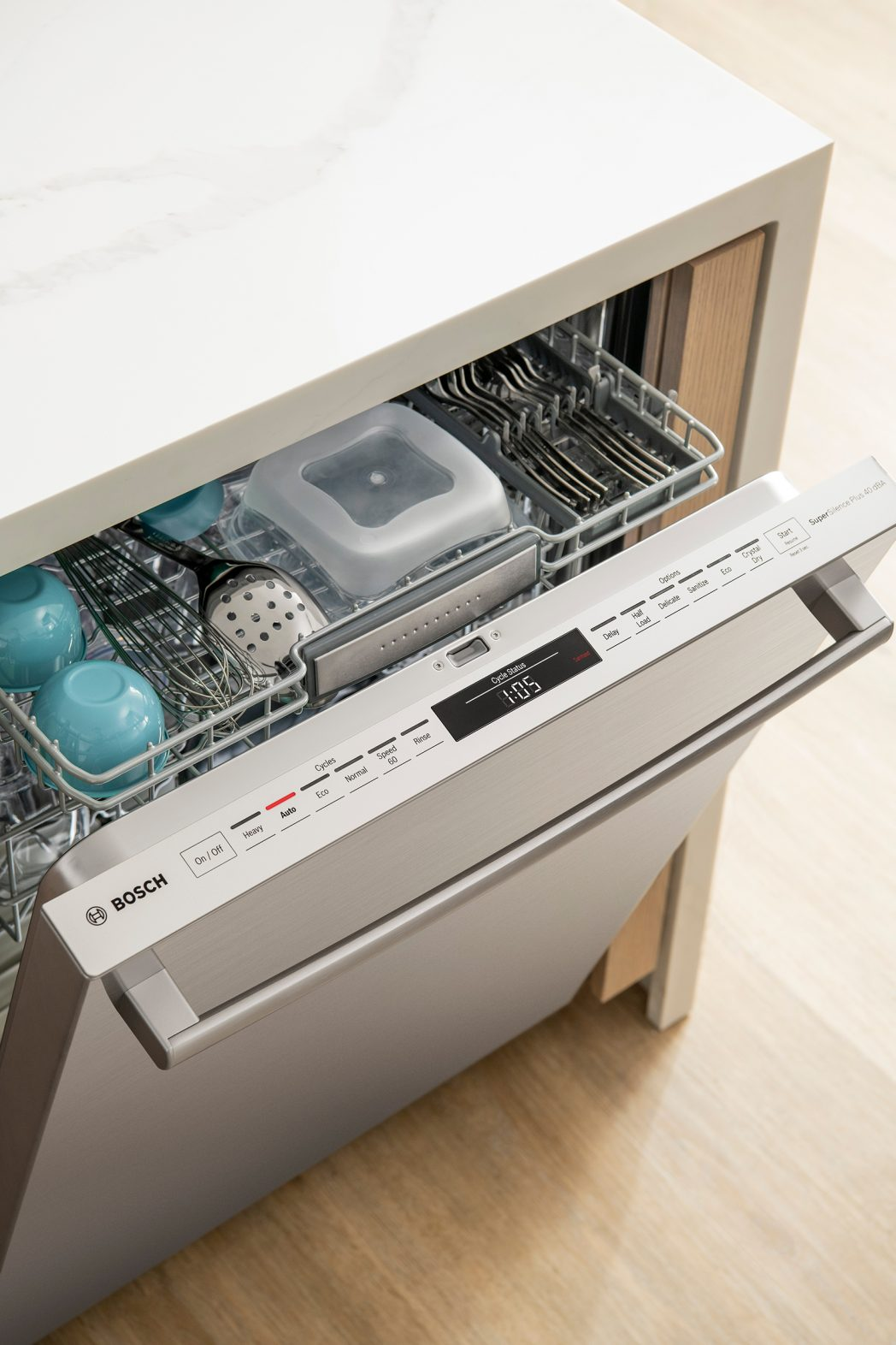 Bosch 800 Series dishwasher Crystal Dry