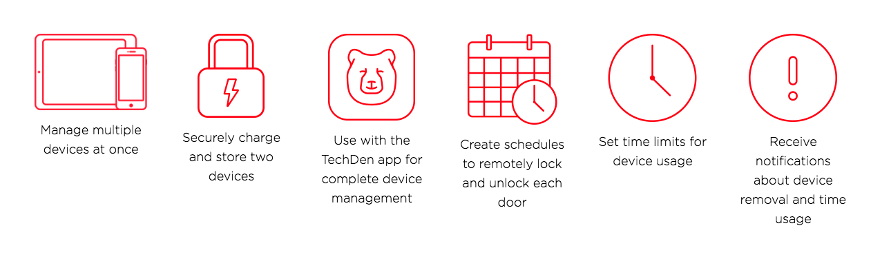 Managing Screen Time for Children With the TechDen App