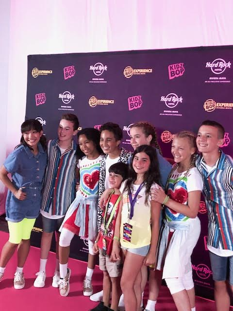 Kidz Bop Experience 2019 at The Hard Rock Hotel, Riviera Maya