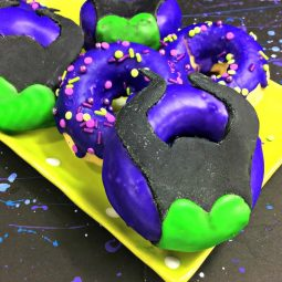 An Awesome Recipe for Maleficent Doughnuts
