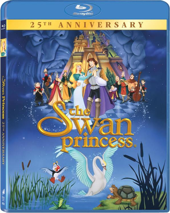 THE SWAN PRINCESS 25th anniversary collector's edition Blu-ray