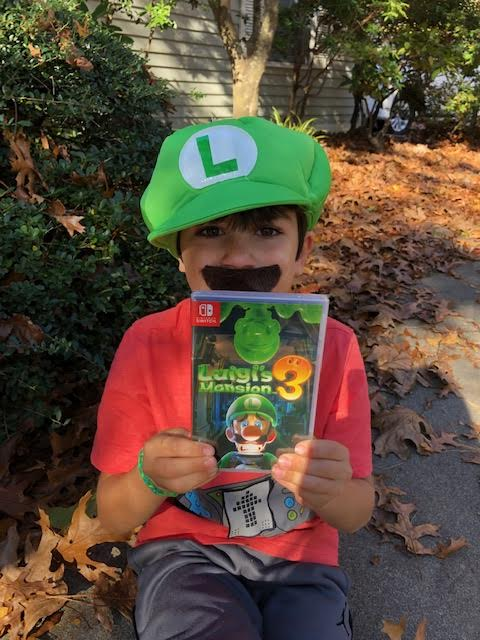 Nintendo Switch Luigi
