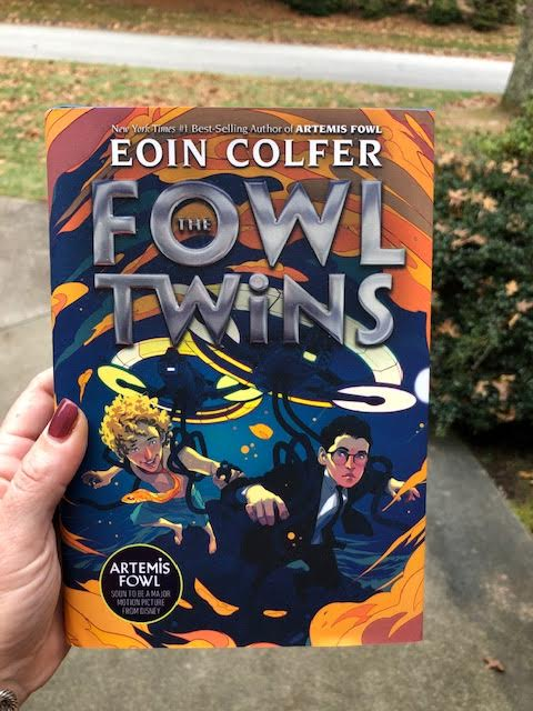 The Fowl Twins- A New spin-off story about Artemis Fowl's twin brothers and a Giveaway!