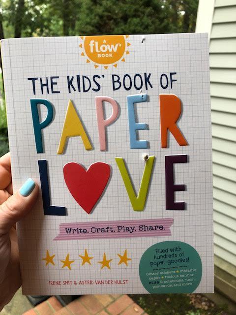 The Kids' Book of Paper Love Book