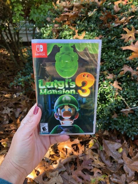Luigi's Mansion 3 is now available on the Nintendo Switch!