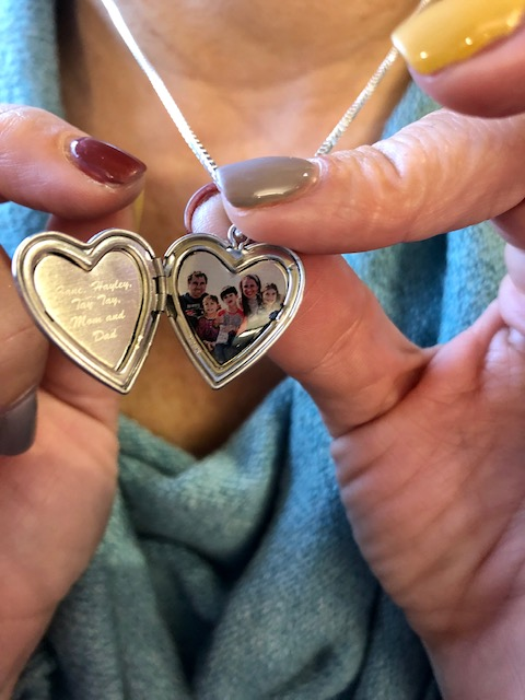 PicturesOnGold Build Your Own Sterling Silver 2 Photo Heart Locket/Necklace Review + Giveaway