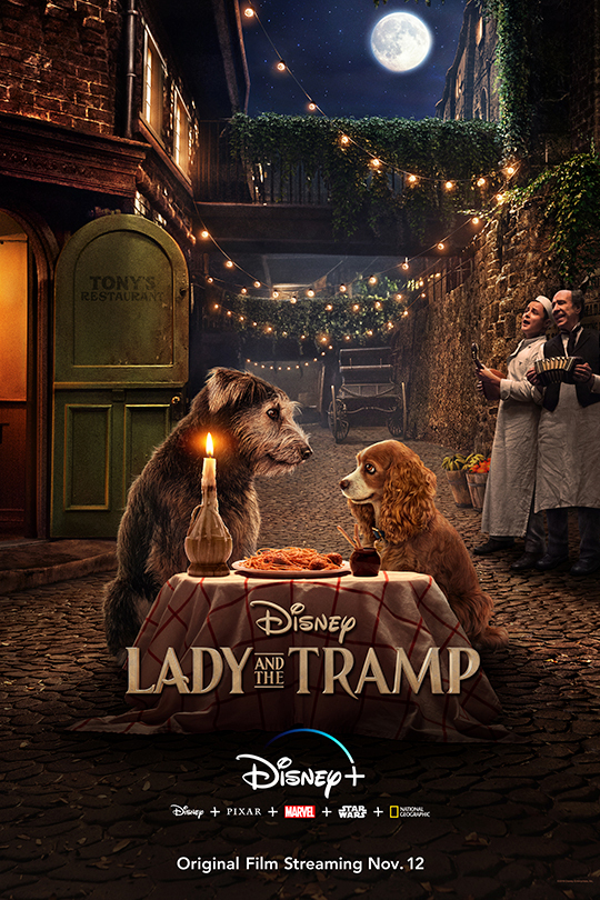 ADY AND THE TRAMP LIVE ACTION MOVIE!