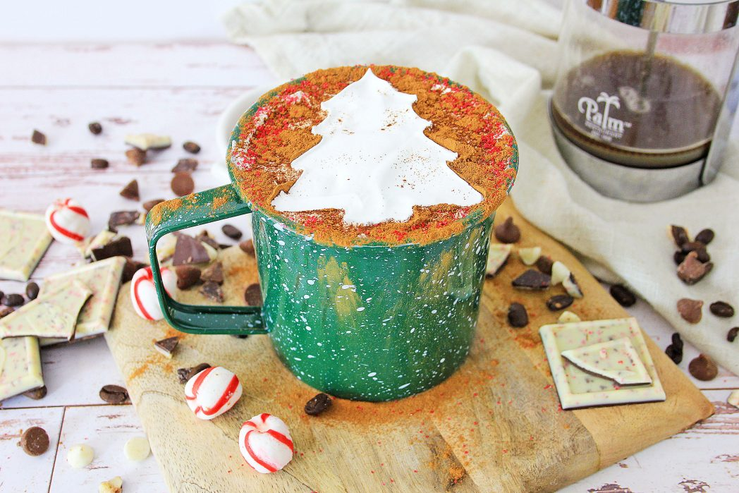 Peppermint Mocha Coffee Recipe for the Holidays!