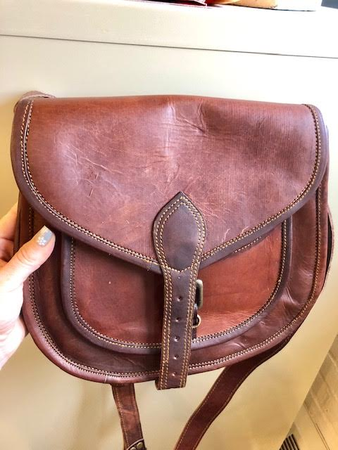 High On Leather Bags Review + Giveaway! Genuine Leather Bag for the holidays!