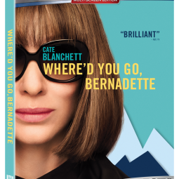 Where'd You Go Bernadette Blu-ray DVD!