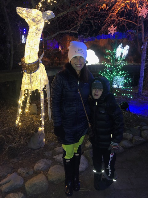 Mystic Aquarium's Northern Lights offers the perfect winter break holiday experience!