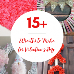 15 Valentines Day Wreaths To Make