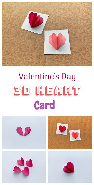 How to Make 3D Valentine Cards