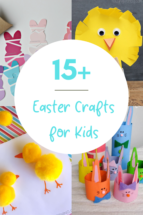 Adorable Easter Crafts! 15 Easter Arts and Crafts Ideas!
