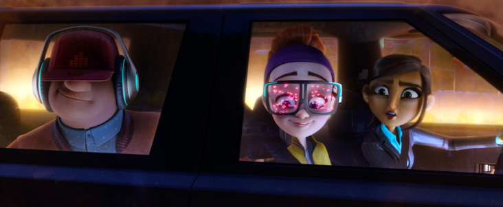 Spies In Disguise on DVD now!