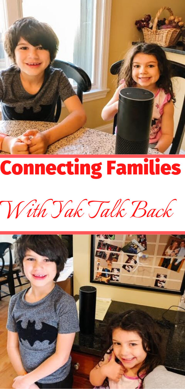 Let's Get Families Talking Again With Yak Talk Back!